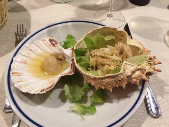 Kulinarinės kelionės: pats keisčiausias patiekalas laukė Ispanijoje