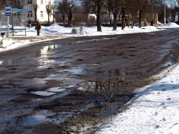 Duobėtos Lietuvos gatvės piktina skaitytojus