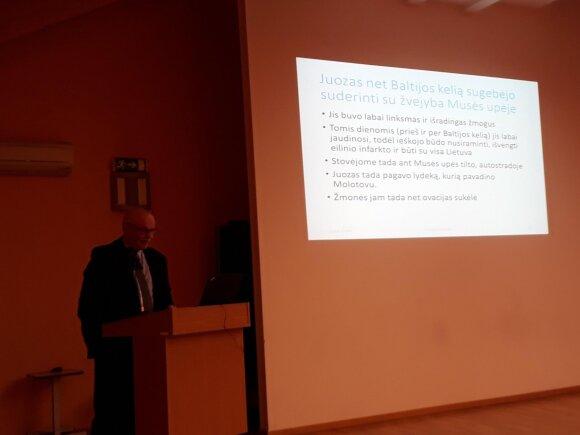 Kalba Dr. Pranas Gudynas