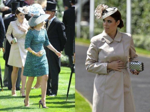 Princesės Beatrice ir Eugenie