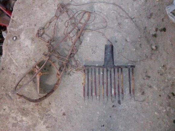 Neteisėti žvejybos įrankiai sunaikinami