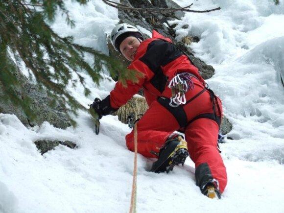 Kopia į kalnus, skraido ir slidinėja: moterys sakydavo – gal tu baik? Aš baigdavau... su tomis moterimis