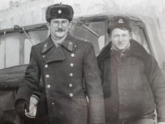 E. Bičkauskas sovietinėje kariuomenėje