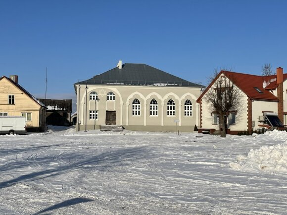 Švėkšnos sinagoga (Monikos Žąsytienės nuotr.)