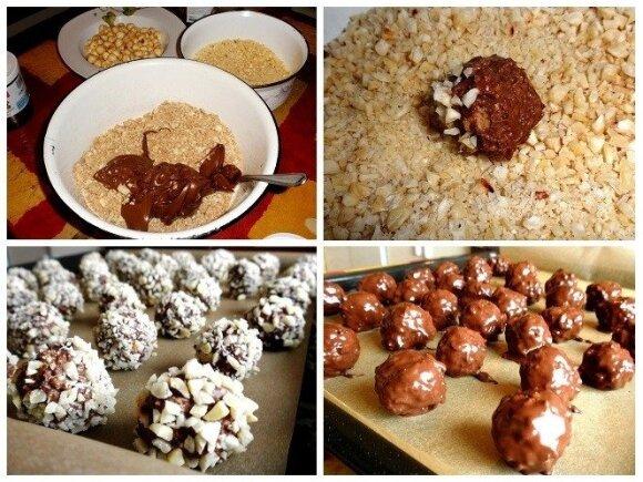 SALDI KALĖDINĖ DOVANA: saldainiai su riešutais
