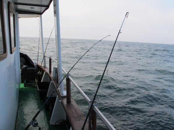 Žvejyba jūroje
