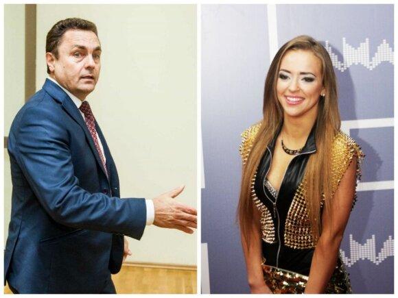 Monika Šalčiūtė ir Petras Gražulis