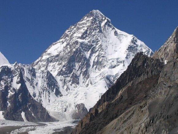 K2 (Pakistamas/Kinija) / Svy123 nuotr.
