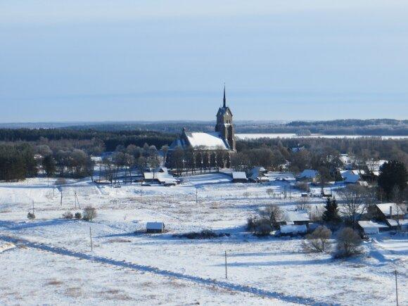 Iš kelionių po Lietuvą: miestelis, kurio bažnyčia šiais laikais kainuotų 3 mln. eurų
