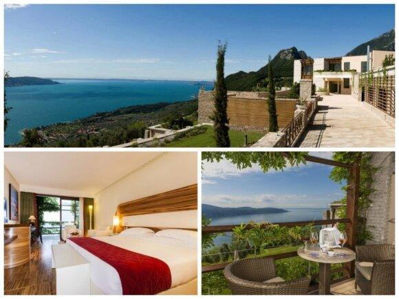 """Italijos viešbutis """"Lefay Resort""""/ Viešbučio nuotr."""