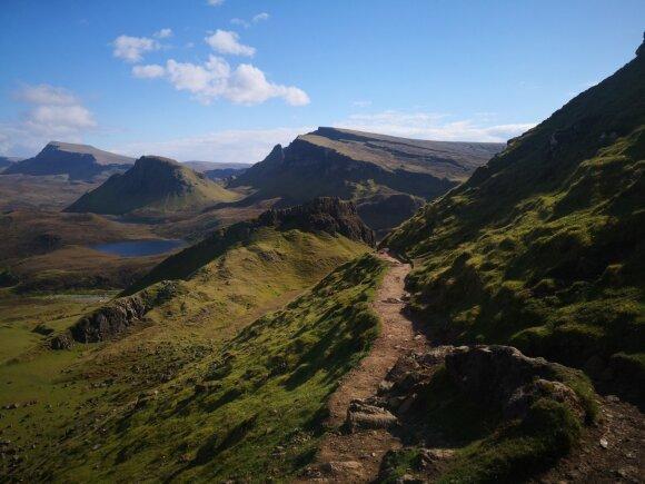 Šeimos kelionė į Škotiją
