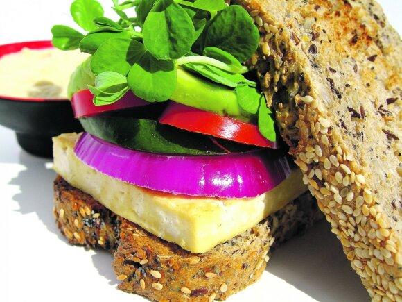 Vegetarų džiaugsmas – (ne)mėsainiai