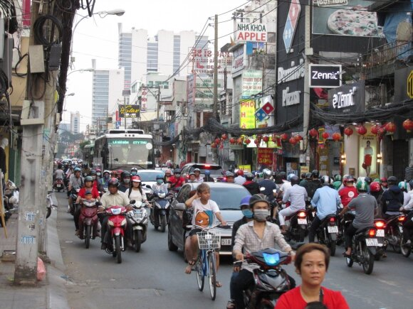 """Edvardas Glušokas: """"Vietnamo eismas yra tikras išūkis europiečiams."""""""
