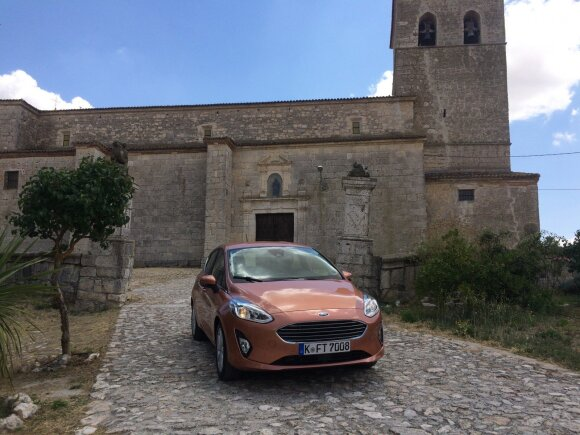 "Septintosios kartos ""Ford Fiesta"""