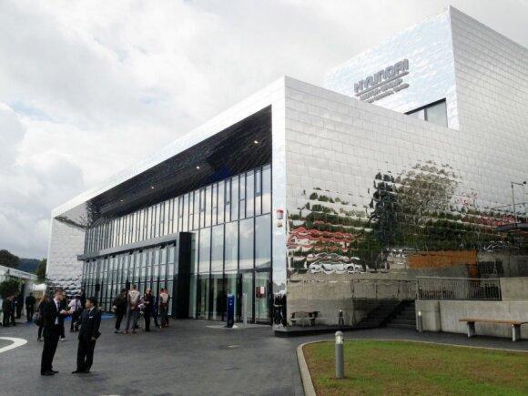Hyundai bandymų centras Nurburgringe
