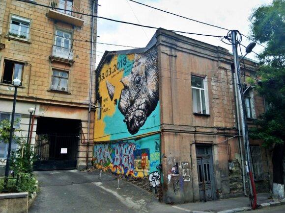Jaunimo pamėgtas Tbilisio rajonas