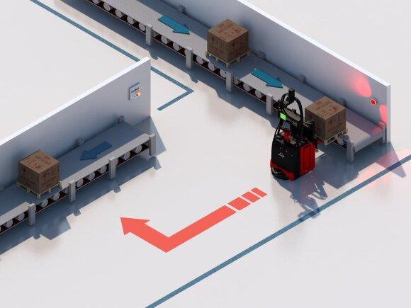 Robotai sandėliuose / Alwark nuotr.