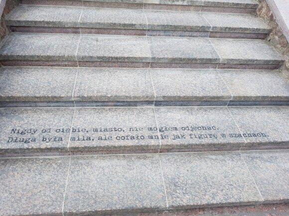 Czesławo Miłoszo laiptai
