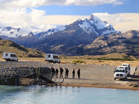 Patagonijos kraštovaizdis