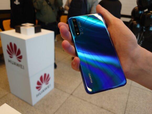 Naujieji Huawei produktai