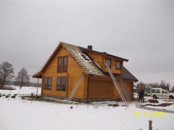 Ką būtina žinoti statant rąstinį namą iš lietuviškų ir sibiro eglių