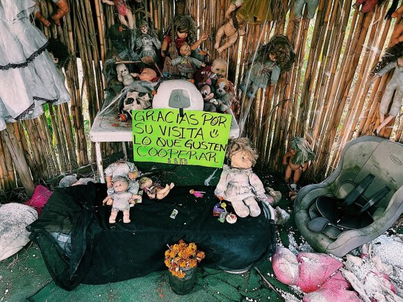 Lietuvis aplankė vieną kraupiausių vietų pasaulyje: atrodo, kad patekau į siaubo filmą