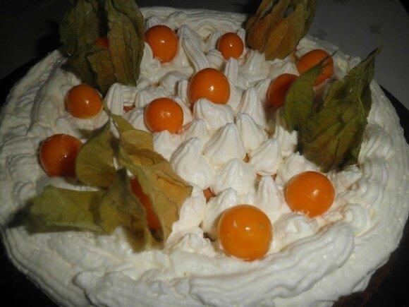 Pavasariškas varškės tortas