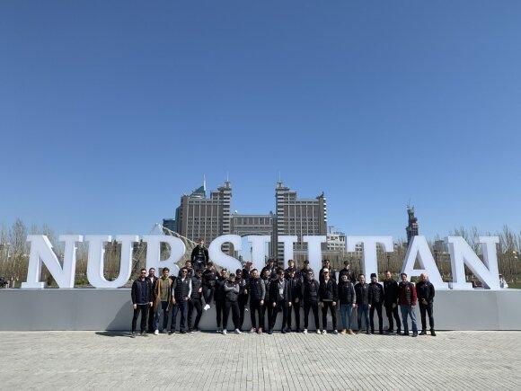 Lietuvos ledo ritulio rinktinė Nur Sultane