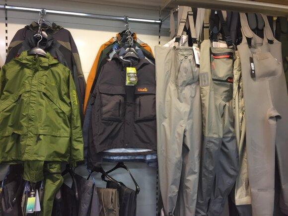 Bridkelnės ir žvejų apranga