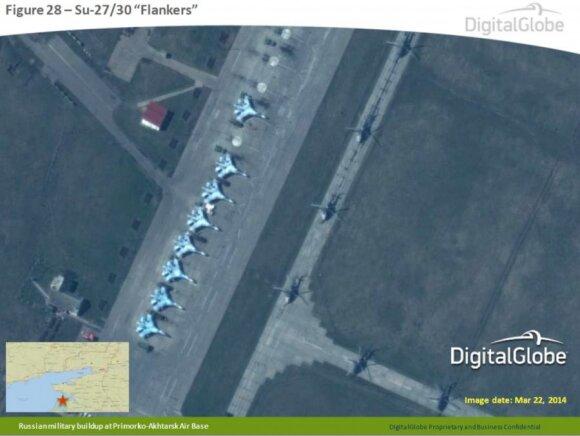 NATO apie palydovines nuotraukas iš Ukrainos pasienio: štai kokia realybė