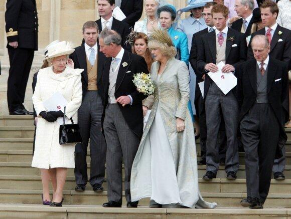 35 metus trukęs slaptas romanas: princas Charlesas ir Camilla