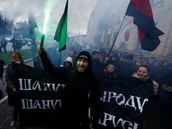 Baltarusijos opozicijos akcija Černobylio kelias