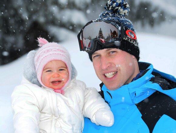 Princas Williamas su dukra Charlotte