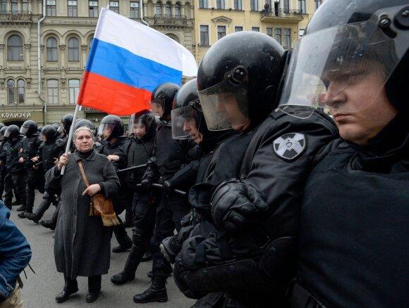 Po išpuolių Rusijoje prabilta apie pilietinį karą: tai labai rimta