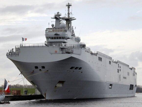Rusija spaudžia į kampą Prancūziją