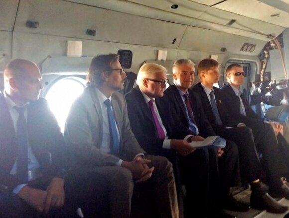 Frankas-Walteris Steinmeieris pakeliui į Donbasą 2016 metais