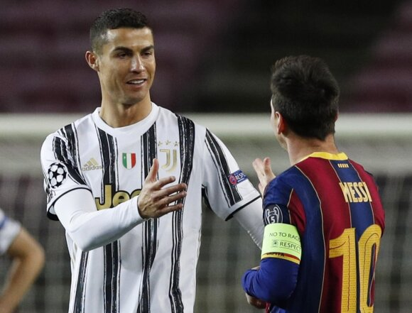 Cristiano Ronaldo, Lionelis Messi