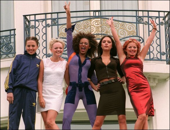 "Grupė ""Spice Girls"" 1997 m."