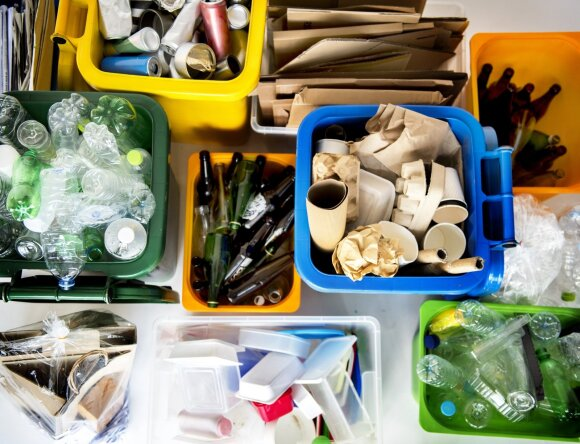 Rūšiavimas, atliekos