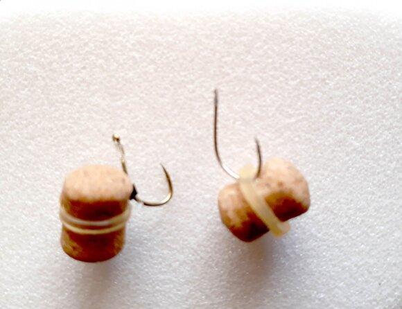 Du granulių kabinimo būdai