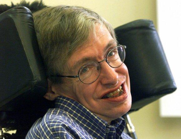 Stephenas Hawkingas 1999 metais