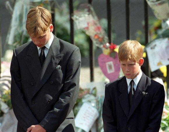 Princai Harry ir Williamas