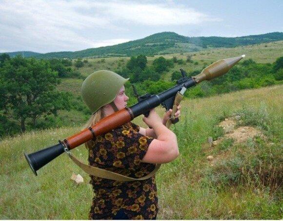 Rusija atsižada Ukrainoje suimtos savo šnipės: jai buvo negerai su galva