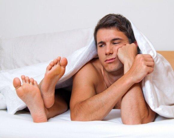 Intymi vyrų problema gali komplikuoti lytinį gyvenimą: urologas išvardijo, kas gali padėti