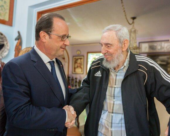 Francois Hollande'as, Fidelis Castro