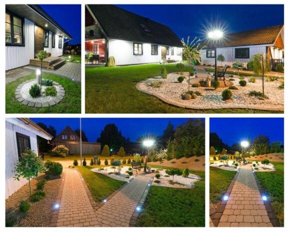 G. Arajums teigimu, LED lemputes geriausia rinktis lauko apšvietimui