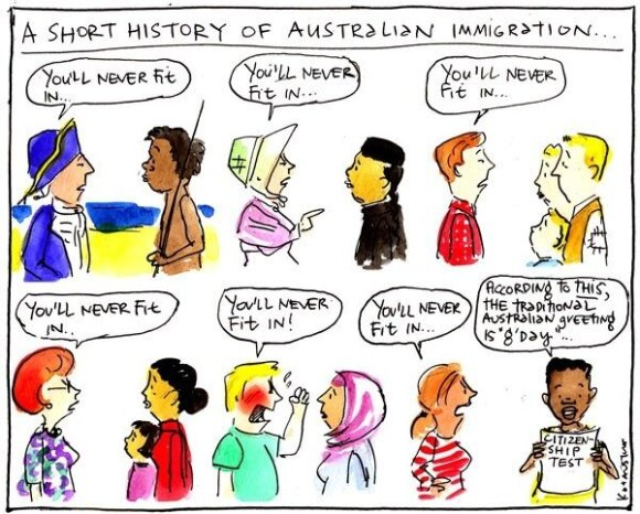 Cartoon by Fiona Katauskas, fionakatauskas.com