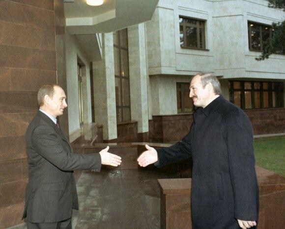 Vladimiras Putinas, Aliaksandras Lukašenka 2002 metais