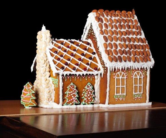 Kalėdinis imbierinis namukas