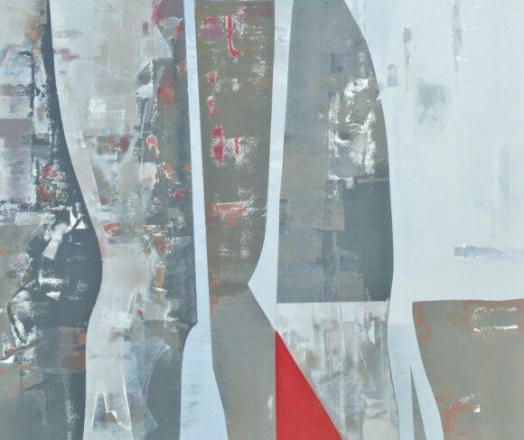 """""""Procesija"""", aliejus, drobė, 2013"""